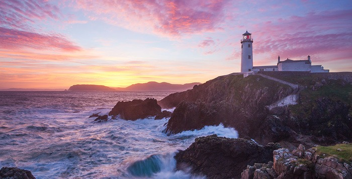 fanad head lighthouse, Donegal Golf, Wild Atlantic Way