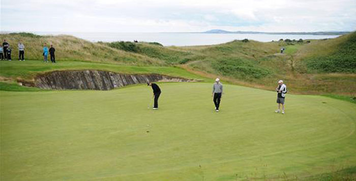 Dublin and the Ancient East Golf Tour. The European Club Golf Course