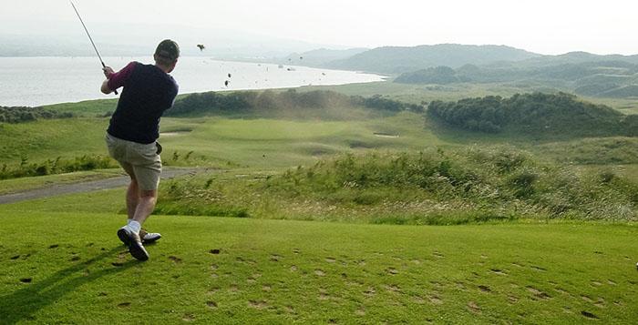 Golf vacation Northern Ireland day 3 portstewart Golf Club