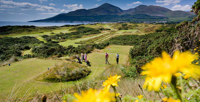 Royal County Down golf course Northern Ireland