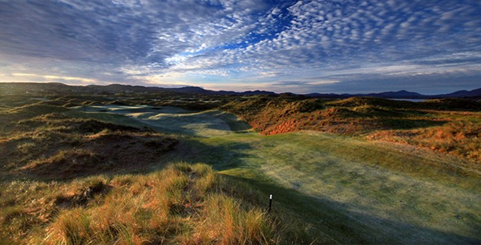 Golf Vacations Ireland. Rory Recommends Golf Tour Donegal Irish golf vacations. Rosapenna golf course.
