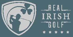 Real Irish Golf logo grey