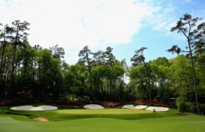 13th hole at Augusta National 300x194 - The Masters and Golf in Ireland