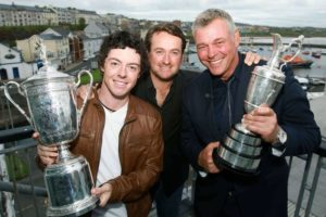 Northern Ireland, Open for Golf, Rory McIlroy, Graeme McDowell, Darren Clarke