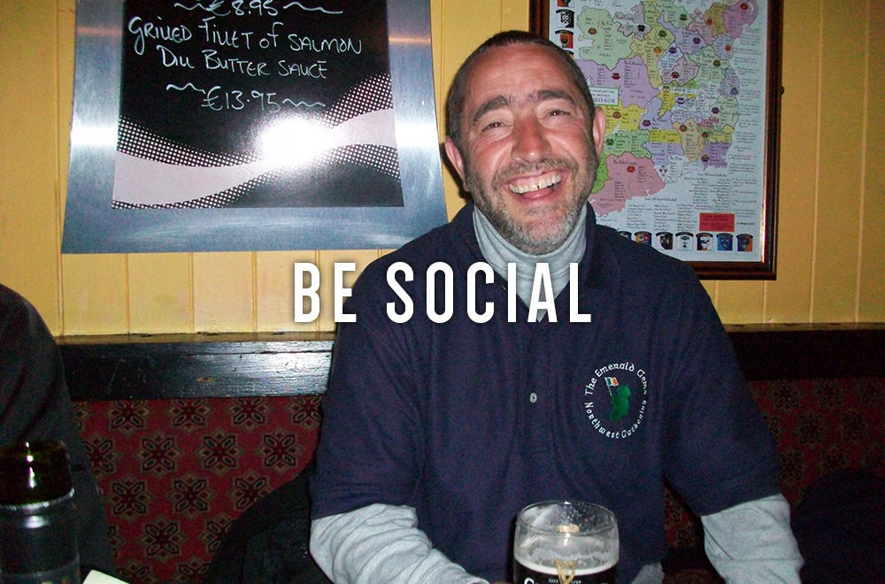 BE SOCIAL 1 1000x660 - Real Irish Golf Vacations - Golf vacation and tours around Ireland.