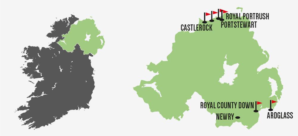 TOUR NORTHERNLIGHTS REAL IRISH GOLF - GOLF VACATION NORTHERN IRELAND: NORTHERN LIGHTS