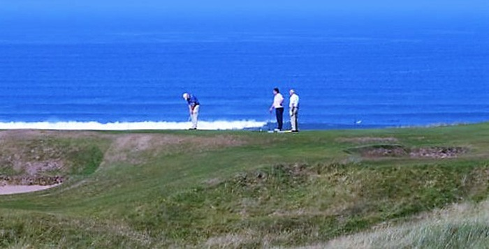 The Wild Atlantic Way golf tour: Day 4 Strandhill Golf Course