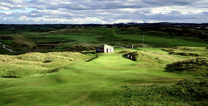 northern day4 castlerock - GOLF VACATION NORTHERN IRELAND: NORTHERN LIGHTS