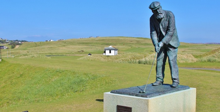 Golf Vacations Ireland. ROSAPENNA-OLD-TOM-MORRIS