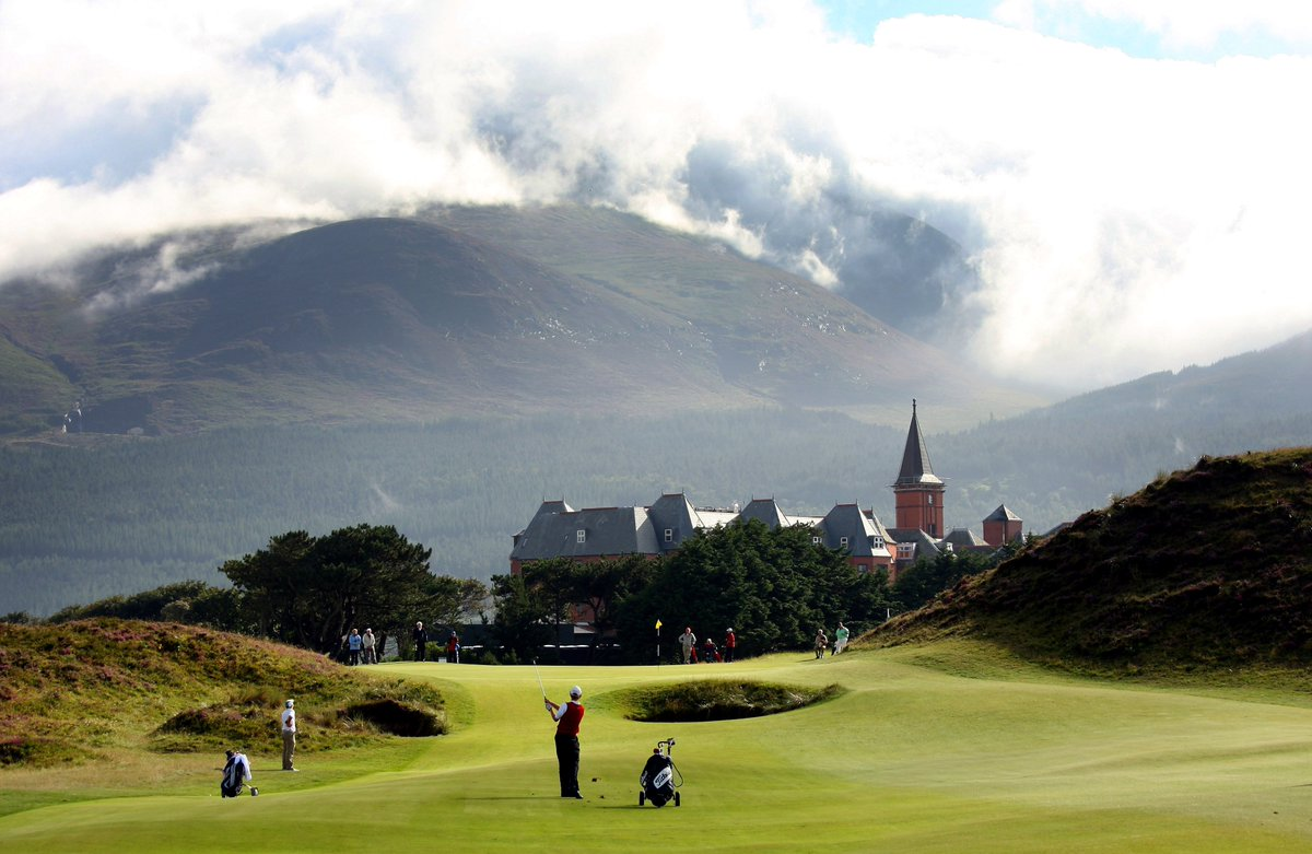 Northern Ireland, Royal County Down, Royal Portrush, The Irish Open