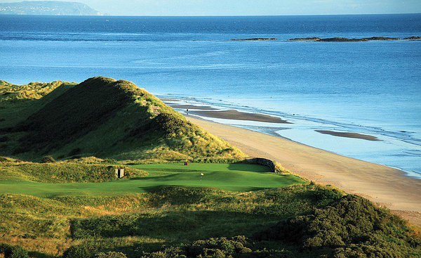 royal portrush, royal county down, northern Ireland golf, Causeway coast golf, Ballycastle golf club,